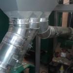 Пеллетный бункер и подача топлива