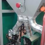 Подача топлива ленточным механизмом